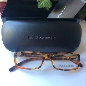 Dolce & Gabbana Marble Havana Eye Glasses
